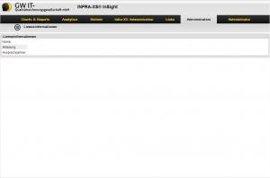 INFRA-XS® InSight nach der Anmeldung