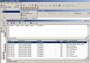 SQL-Query im XS-Designer