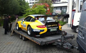 The GT3 Racing Car Arrives